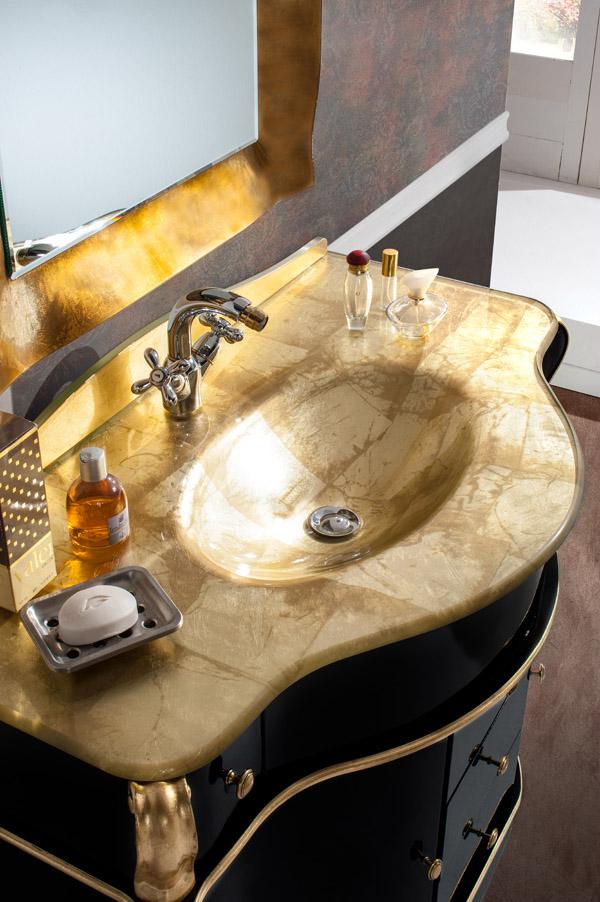 lavabo oro
